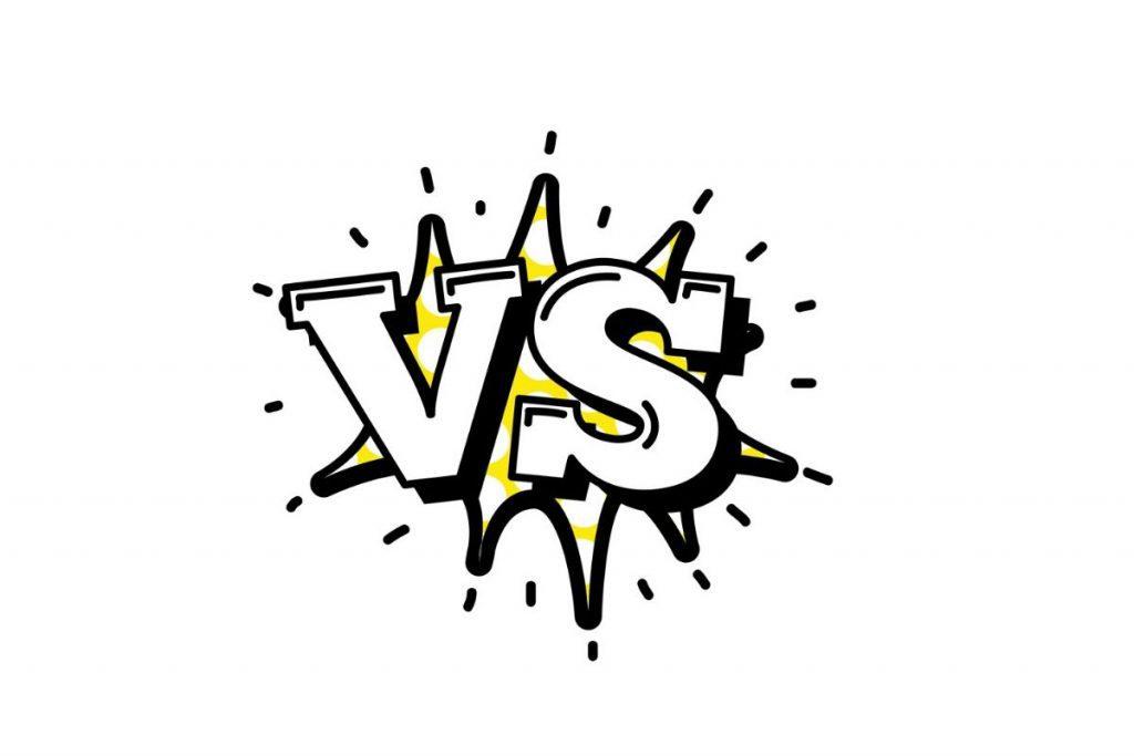 mixer vs audio interface cartoon letters