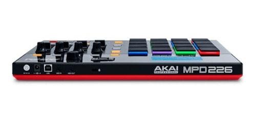 Akai MPD226 back-end view