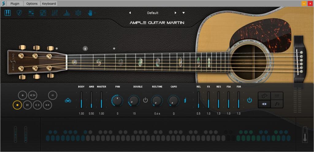 Ample Sound AGML II interface