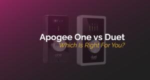 Apogee One Vs Duet