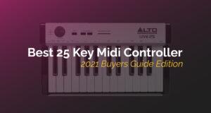 best 25 key midi controllers