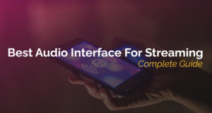 audio interface for streaming