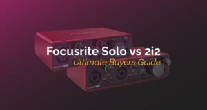 focusrite solo vs 2i2