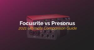 focusrite vs presonus