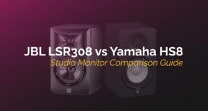 jbl lsr308 vs yamaha hs8