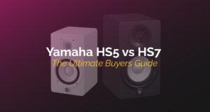 yamaha hs5 vs hs7
