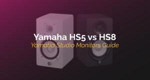 yamaha hs5 vs hs8