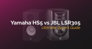 yamaha hs5 vs jbl lsr305