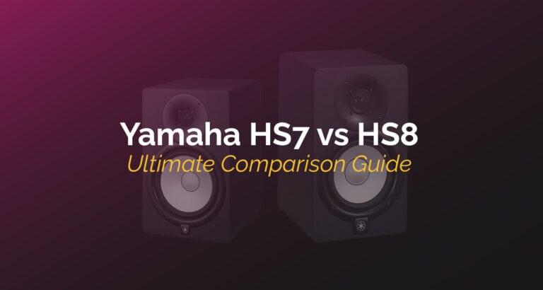 yamaha hs7 vs hs8