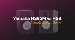 yamaha hs80m vs hs8
