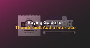 Buying Guide for Thunderbolt Audio Interface